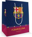 FC Barcelona ajándéktáska, 23x18x10cm, közepes