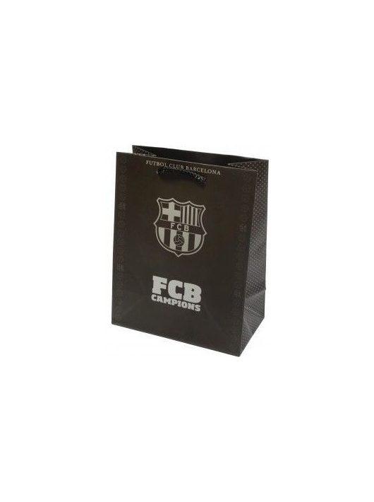 FC Barcelona ajándéktáska, 32x26x13cm, nagy, többféle