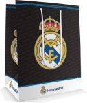 Real Madrid ajándéktáska, 23x18x10cm, közepes