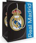 Real Madrid ajándéktáska, 32x26x13cm, nagy