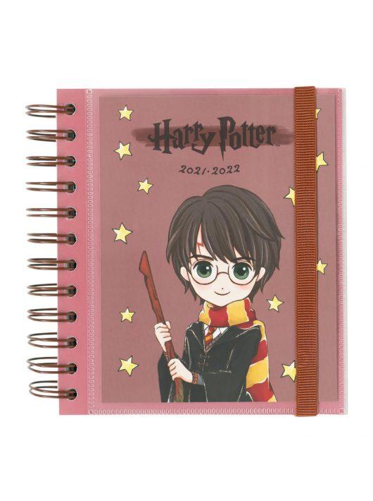 Harry Potter diák tervező, 14x16cm, napi, 2021.aug.-2022.jún.