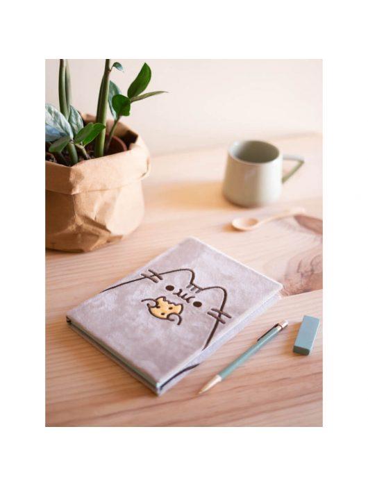 Pusheen cicás napló plüss borítóval, A/5, Foodie Collection