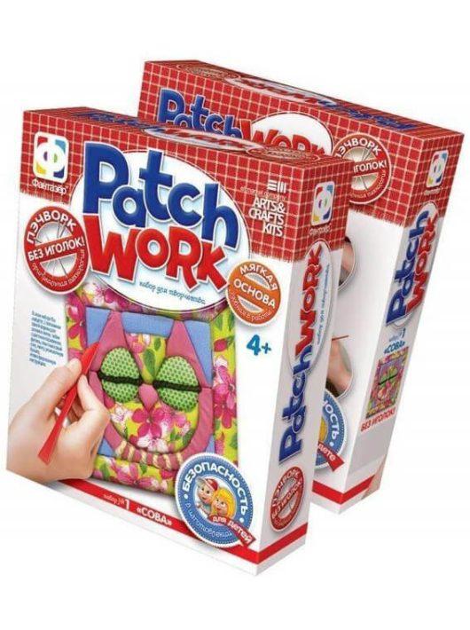 Patchwork képkészítő szett, Bagoly, 4+