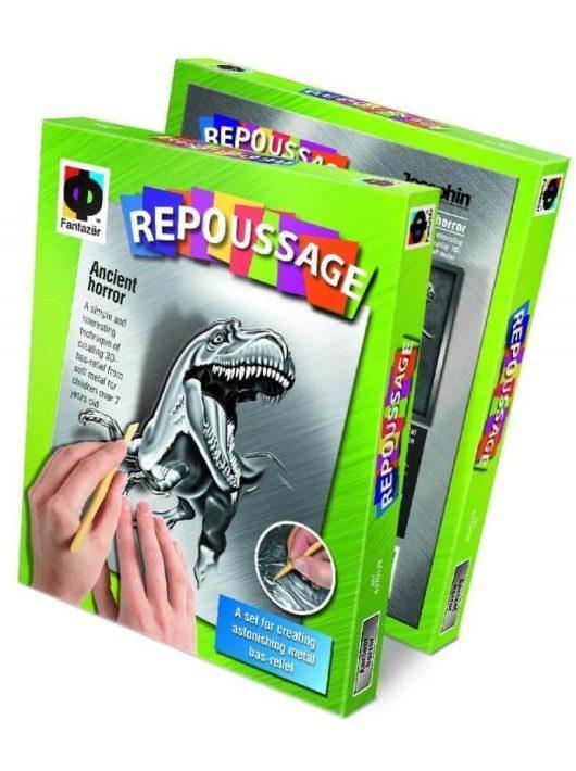 Domború fóliaképkészítő kreatív szett, Dinoszaurusz, 10+