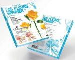 Papírvirág készítő kreatív szett, Mákvirág