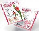 Papírvirág készítő kreatív szett, Tulipán