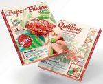Quilling képkészítő szett, Vörös berkenyefa
