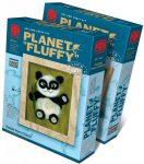 Gyapjúkép készítő szett, Panda