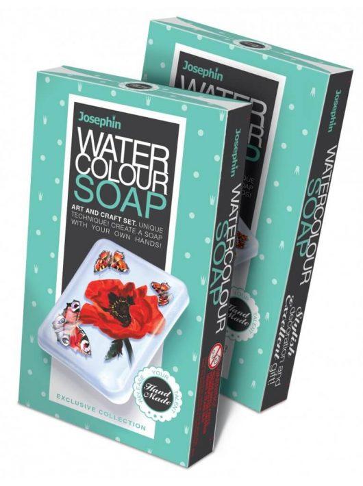 Szappankészítő készlet, Watercolour Soap, Pipacs