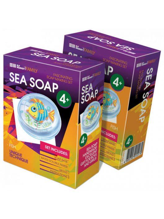 Szappankészítő készlet, Sea Soap, Hal, 4+