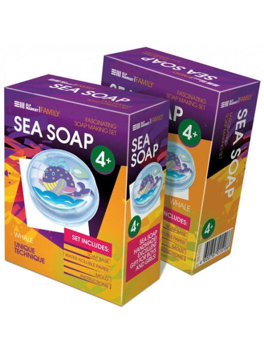Szappankészítő készlet, Sea Soap, Bálna, 4+