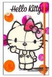 Hello Kitty napló gumis pánttal, A/6