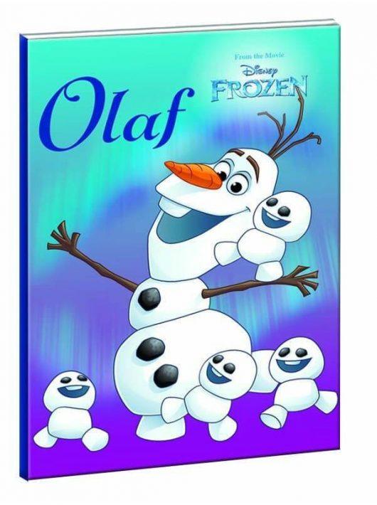 Jégvarázs, Olaf tűzött füzet, B/5 17x25cm, 40 lap vonalas