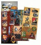 Star Wars matrica, többféle, 6x12,5 cm