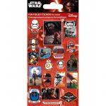 Star Wars matrica, többféle, 9,5x16 cm, újraragasztható