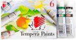 Tempera készlet, színes, 6db-os, Süni