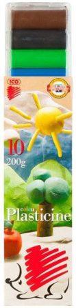 Gyurmakészlet, színes, 10 db-os, Süni