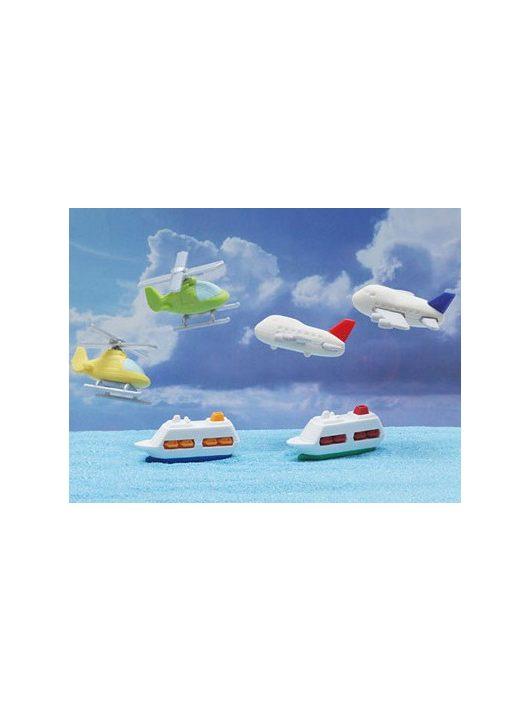 Radír, repülő és hajó, vegyes, 1 db