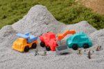 Radír, építési járművek, vegyes, 1 db