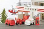 Radír, tűzoltó és mentő járművek, vegyes, 1db