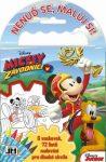 Mickey egér úti színező 72 lappal és 6 zsírkrétával