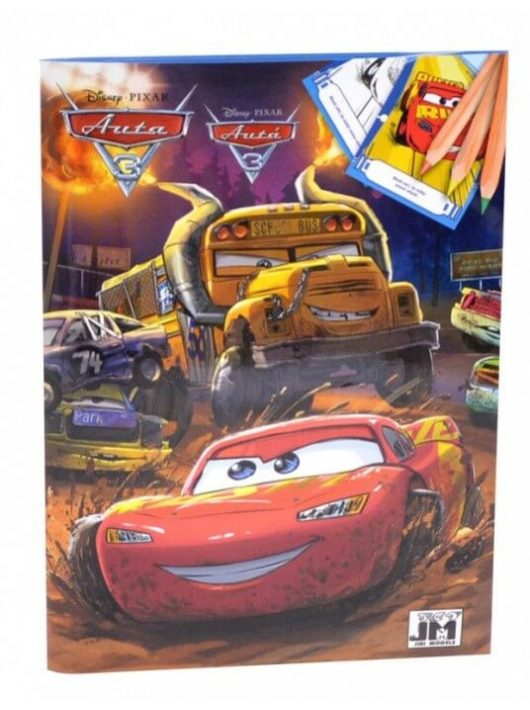 Verdák 2, Cars 2 színezőfüzet A/5