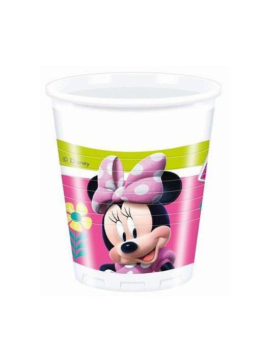 Minnie műanyag pohár, 200ml, 8 db/csomag