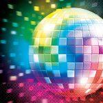 Disco Fever szalvéta, 25x25cm, 16 db/csomag