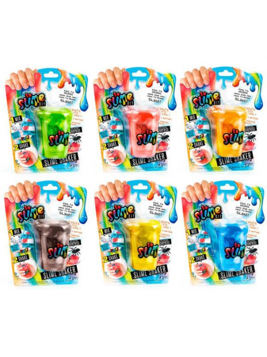So Slime Shaker 1 db-os, fiús, többféle változat