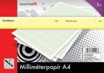 Milliméterpapír A/4 5db