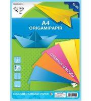 Origami hajtogató lapok A/4, 10 lap