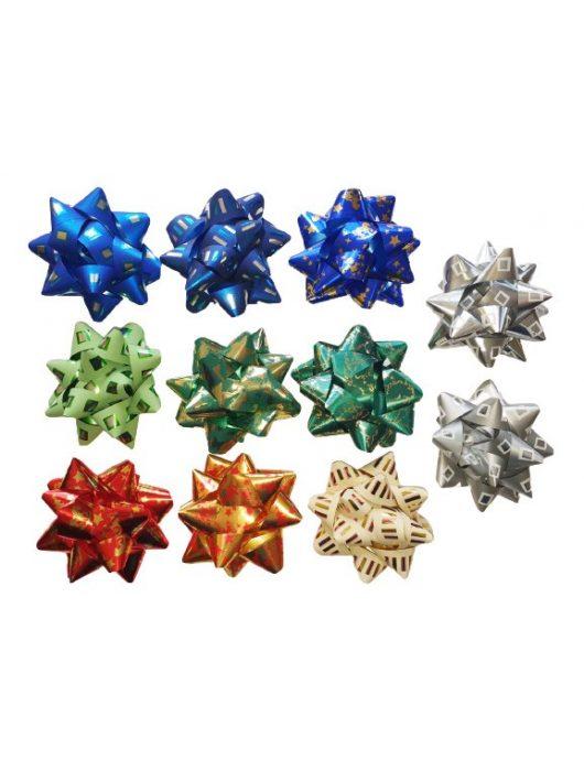 Öntapadós csillag, L méret, metál, többféle