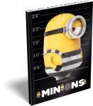 Minion, Minyon notesz keményfedeles A/5 Stripe