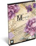 Lizzy Card hangjegy füzet A/5 Music Retro