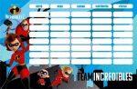 The Incredibles - A hihetelen család 2. órarend 17