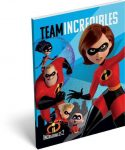 The Incredibles - A hihetelen család 2. notesz A/7
