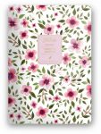 Florette Bullet Journal notesz A/5, Pink Flow