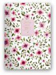 Florette Bullet Journal notesz A/5, Pink Flow