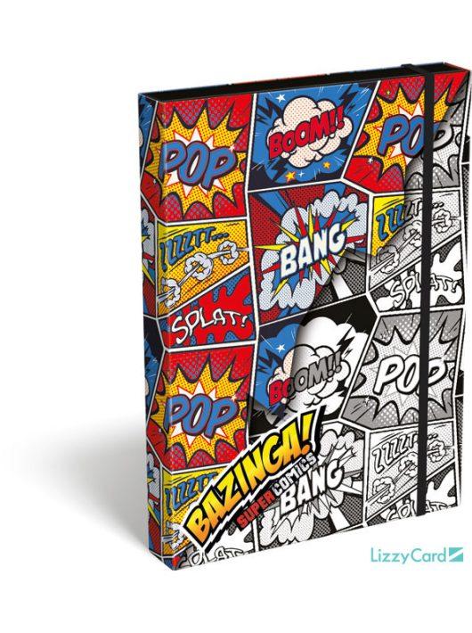 Képregényes füzetbox A/4, Supercomics Bazinga