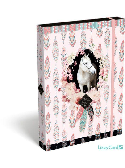 Lovas füzetbox A/4, Wild Beauty Rose