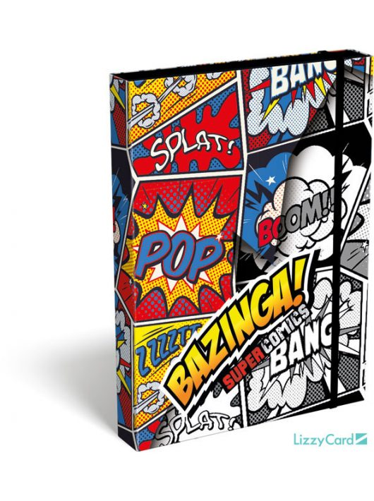 Képregényes füzetbox A/5, Supercomics Bazinga