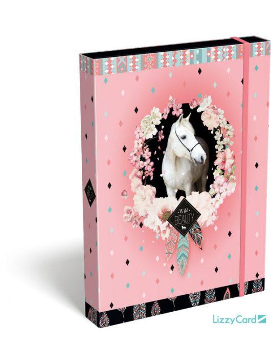 Lovas füzetbox A/5, Wild Beauty Rose