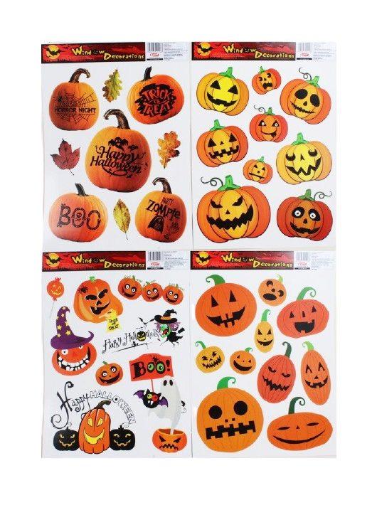 Ablakmatrica, Halloween, A/3, többféle változat