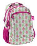 Barbie hátizsák, 43x31x19cm, ananász mintával, Paso