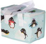 Pingvin uzsonnás táska, hűtőtáska, 20,5x15,5x14cm
