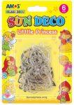 Fényvarázs formák üvegfestékhez, 6 db-os, lányos, Little Princess