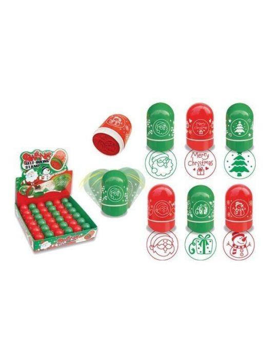 Nyomda, karácsonyi, 6 féle, kör alakú, 1 db