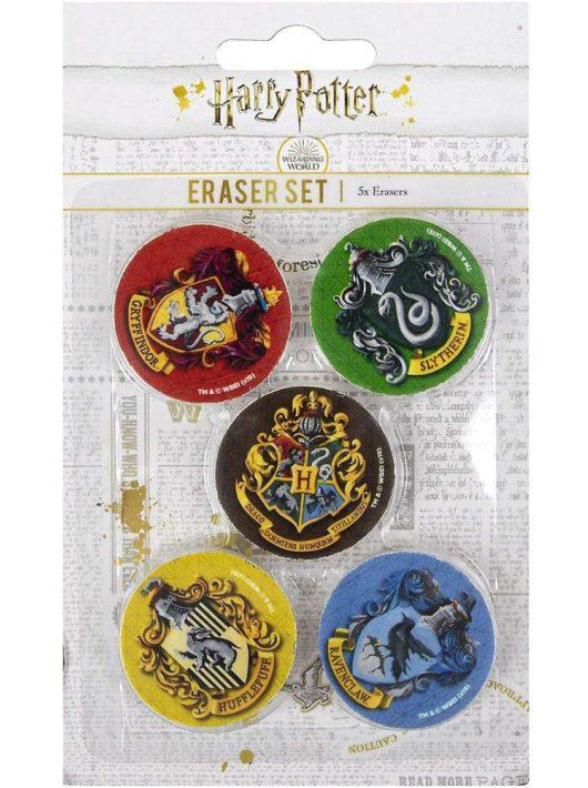 Harry Potter radír szett, 5 db/csomag