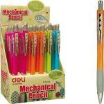 Töltőceruza, mechanikus ceruza 0,7mm Deli, többféle színben