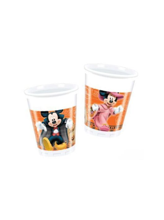 Disney Halloween műanyag pohár, 200ml, 8 db/csomag